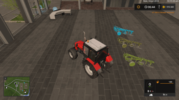 Плуг FORTSCHRITT B-125 V1.0.0.0 для Farming Simulator 2017