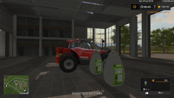 Мешки LIZARD BIG BAG V1.0.0.0 для Farming Simulator 2017