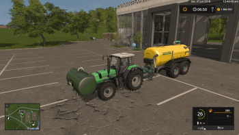 Бочка GOMA FRONTTANK V1.0.0.0  для Farming Simulator 2017