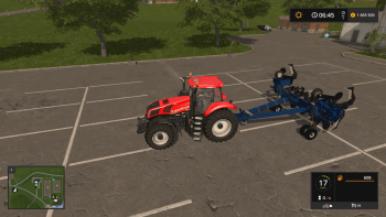 Плуг BLU JET SUB TILL 4 V1.0 для Farming Simulator 2017