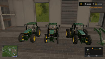 Трактор JOHN DEERE 6810 V1.1 для Farming Simulator 2017