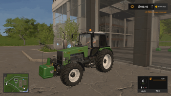 Противовес JOHN DEERE FRONT WEIGHT V1.1 для Farming Simulator 2017