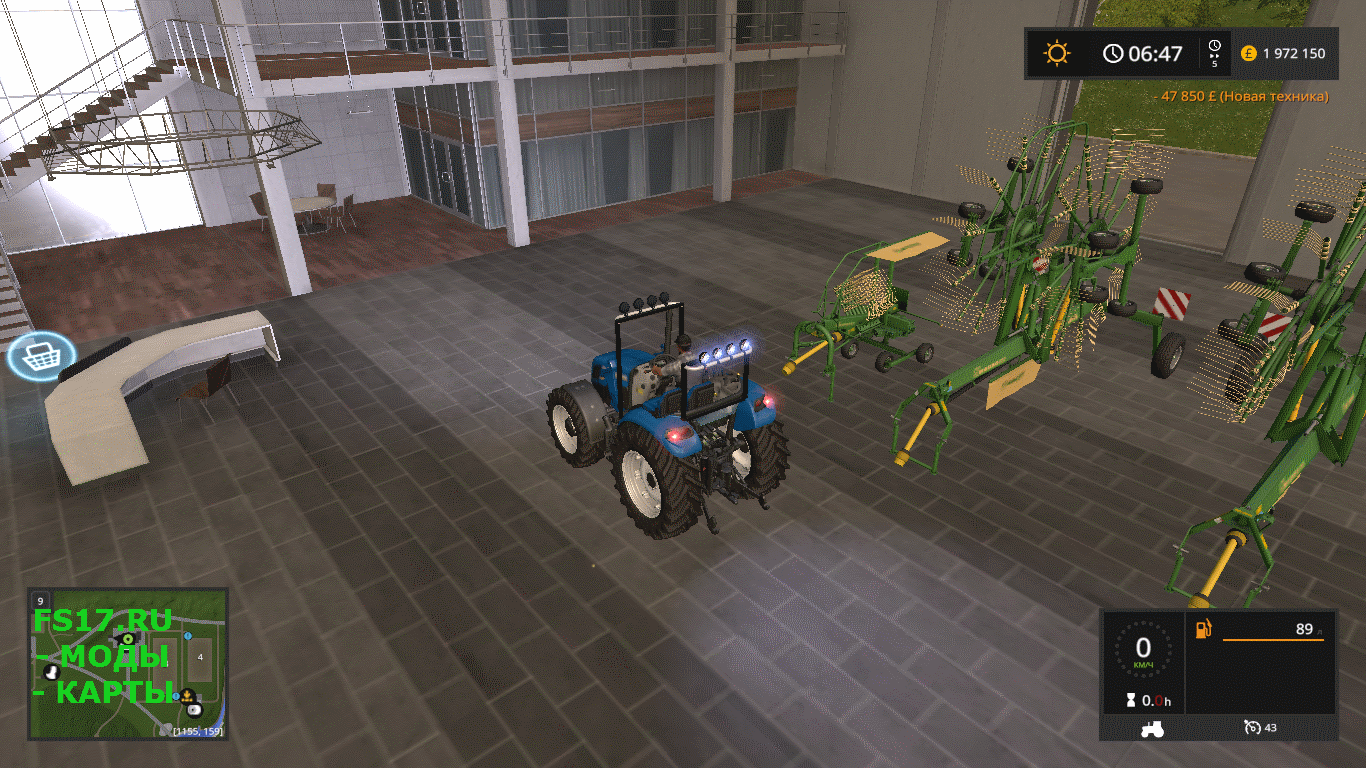 Пак валковых жаток KRONE RAKE PACK V1.0.0.0 для Farming Simulator 2017