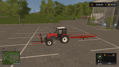 Пак для тюков T-051 AND T-270 GRIPPER V1.0 для Farming Simulator 2017