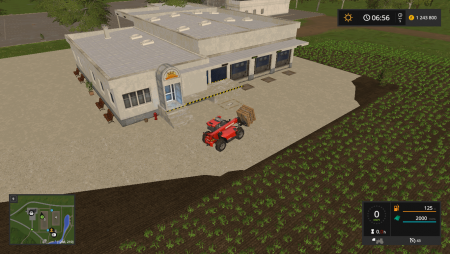 Производство FLOUR PRODUCTION PLACEABLE V1.0 для Farming Simulator 2017