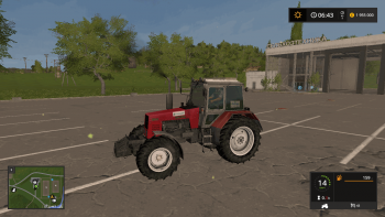 Трактор МТЗ 1221 v 1.6 для Farming Simulator 2017