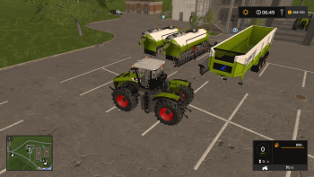 Пак CLAAS XERION/KAWECO FULL PACK V1.1 для Farming Simulator 2017