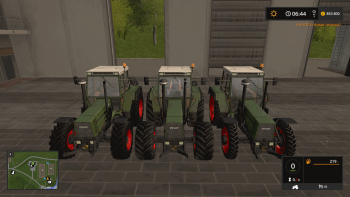 Трактор FENDT 600 FAVORIT V1.1 для Farming Simulator 2017