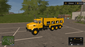 Самосвал CATERPILLAR 7140 V1.0 для Farming Simulator 2017
