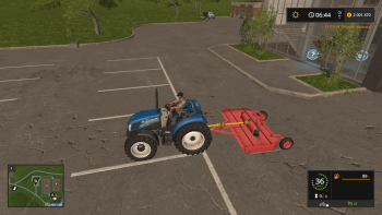 Косилка RZ 3M MOWER V1.0.0.0 для Farming Simulator 2017