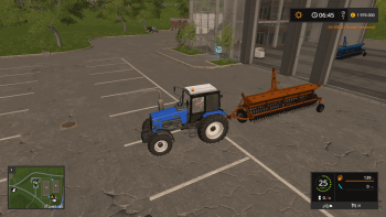 Сеялка S045/2 POLANIN II V1.0.0.1 для Farming Simulator 2017
