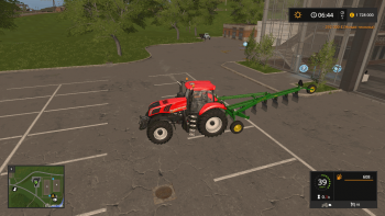 Плуг JOHN DEERE 995 V1.0.0.0 для Farming Simulator 2017