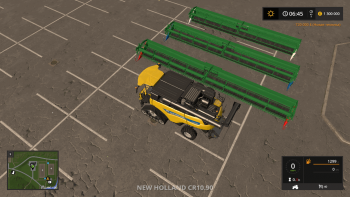 Пак жаток MIDWEST HEADERS PACK V1.0 для Farming Simulator 2017