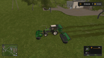 Пак JOHN DEERE F35R & R990R MOWERS V1.0 для Farming Simulator 2017