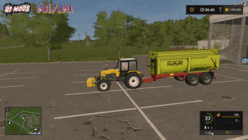 Прицеп Conow TMK 22/7000 v 1.1 для Farming Simulator 2017