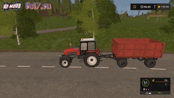 Прицеп ПТС 6 v 1.2 для Farming Simulator 2017
