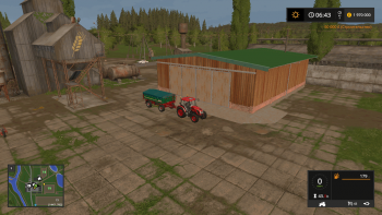 Гараж HALL V1.0.0.0 для Farming Simulator 2017