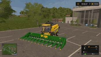 Кукурузная жатка JOHN DEERE 612C V1.1 для Farming Simulator 2017