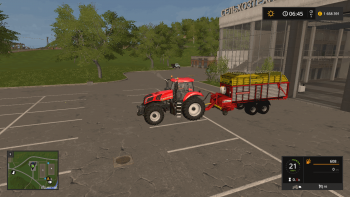 Прицеп подборщик POTTINGER EUROPROFI 5000 V1.0 для Farming Simulator 2017