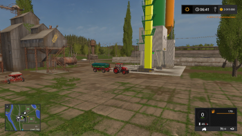Хранилище CONSTRUCTION SITES SILO PLACEABLE V1.5  для Farming Simulator 2017
