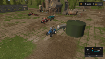 Хранилище воды WATER COLLECTOR STORAGE V1.0.0.0  для Farming Simulator 2017