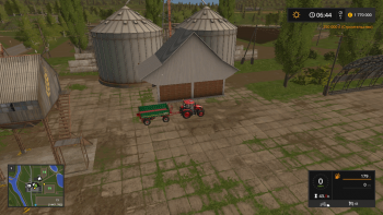 Хранилище SILO DLC COLOCAVEL V1.0 для Farming Simulator 2017