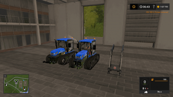 Трактор NEW HOLLAND TK4060 V1.1 для Farming Simulator 2017