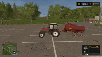 Цистерна для воды РЖТ 6 v 1.1 для Farming Simulator 2017
