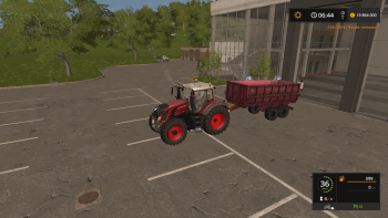 Прицеп ПСТБ 12 v 1.0 для Farming Simulator 2017