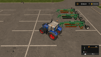 Пак AMAZONE AW 6600 V1.0.0.0 для Farming Simulator 2017