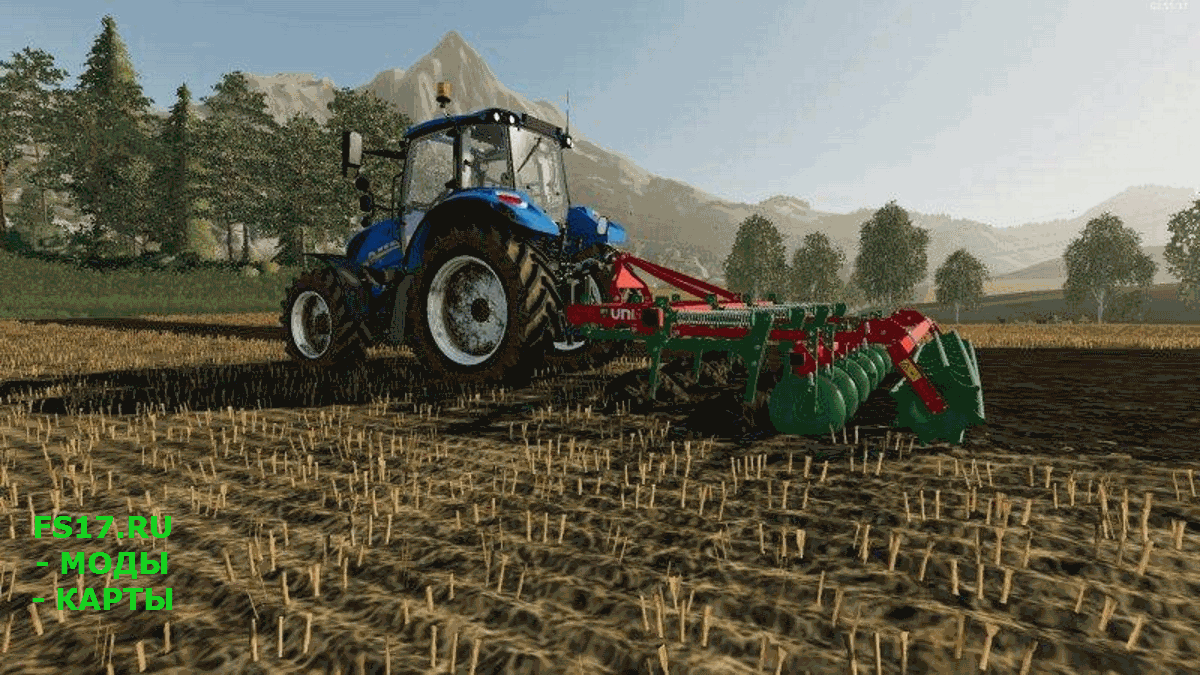 Культиватор UNIA KOS V1.0.0.0 для Farming Simulator 2019