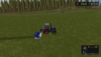 Косилка BCS ROTEX XR5 V1.0.0 для Farming Simulator 2017