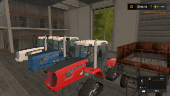 Трактор ХТЗ-242К/243К/280Т v 3.1 для Farming Simulator 2017