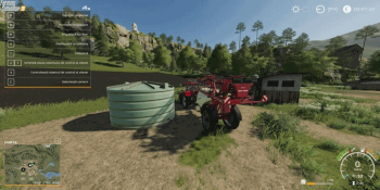 Объект Placeable Liquid Fertilizer Tank v 1.0 для Farming Simulator 2019