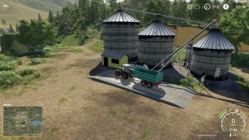 Хранилище HARVESTORE GRAIN SILO V1.0.1 для Farming Simulator 2019