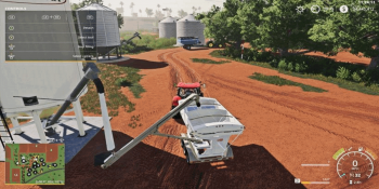 Объект Placeable Fertilizer Station w/Auger v 1.0 для Farming Simulator 2019