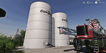Объект Placeable Cargill Liquid Fert Refill Tanks v 1.0 для Farming Simulator 2019