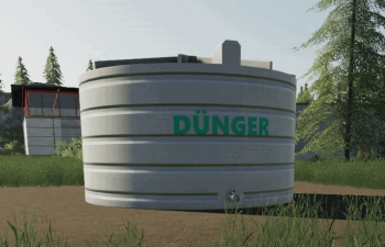 Объект LIQUID FERTILIZER TANK - PLACEABLE V1.0 для Farming Simulator 2019