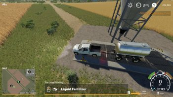 Цистерна MKS8 CHEMICAL TANK V1.0 для Farming Simulator 2019