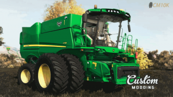 Комбайн John Deere S700 v 1.0 для Farming Simulator 2019