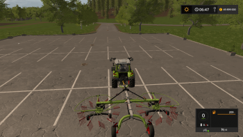 Валковая жатка CLAAS LINER 2700 V0.9.0.0 для Farming Simulator 2017