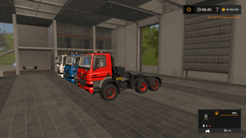 Тягач TATRA PHOENIX 6X6 AGRO TRUCK V2.1 для Farming Simulator 2017