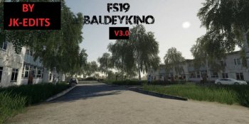 Карта Балдейкино v 3.2 by JK-Edits для Farming Simulator 2019