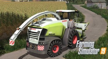 Кормоуборочный комбайн Claas Jaguar 900 Series v 2.0 для Farming Simulator 2019