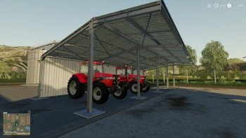 Навес EASY SHED (SMALL) V1.0.0.0 для Farming Simulator 2019