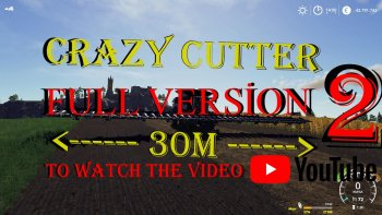 Жатка для кукурузы CRAZY CUTTER CAPELLO DIAMANTHS8 FULL VERSION V1.0 для Farming Simulator 2019