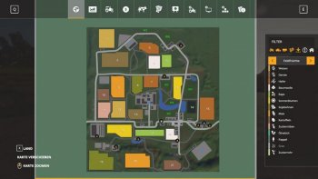 Карта KLEINSTERNHOF MAP V1.0  для Farming Simulator 2019
