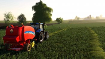 Тюкопресс NEW HOLLAND ROLLBELT 460 V1.0.0.0 для Farming Simulator 2019