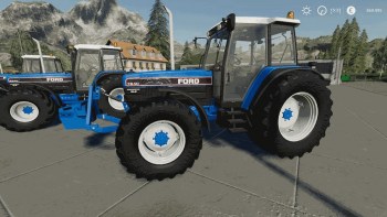 Трактор FORD 40ER SERIES V1.3.0 для Farming Simulator 2019