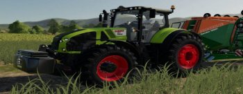 Трактор CLAAS AXION 900 V1.1.0.0) для Farming Simulator 2019